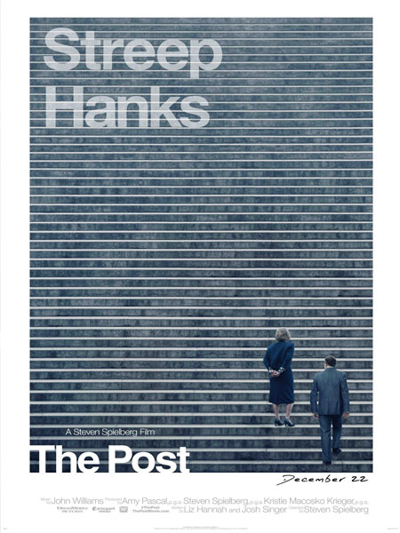 National Board of Review nombra 'The Post' la mejor película del año